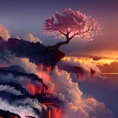 Sakura Tree Live Wallpaper icon
