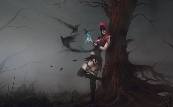 Witch Live Wallpaper apk screenshot