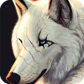 Wolf Anime Live Wallpaper icon