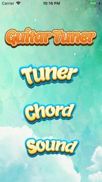 Perfect Guitar Tuner & Full Basic Guitar Chords screenshot 3