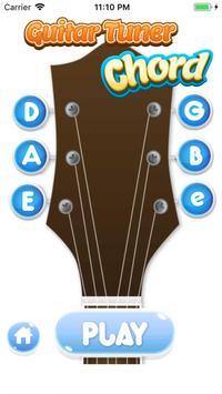 Perfect Guitar Tuner & Full Basic Guitar Chords poster