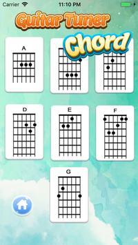 Perfect Guitar Tuner & Full Basic Guitar Chords screenshot 2