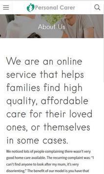 Personal Carer screenshot 3