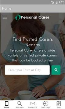 Personal Carer poster