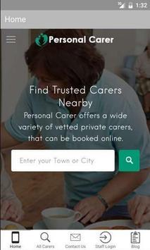Personal Carer screenshot 4