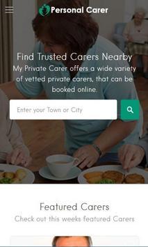 Personal Carer apk screenshot