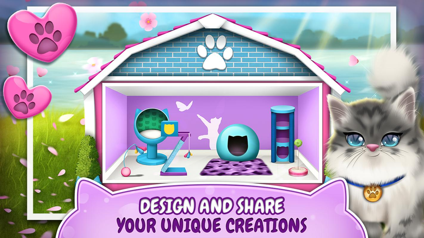 Pet Cat House Decoration Games Apk Download Free Lifestyle App For Android