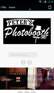 Peter's Photobooth poster