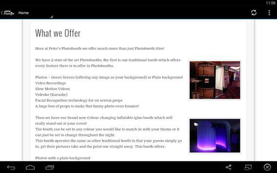 Peter's Photobooth apk screenshot