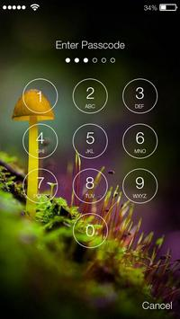 Mushrooms Field  PIN Lock screenshot 1