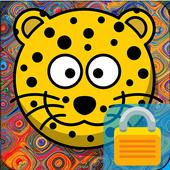 Cartoon Animals Lock icon