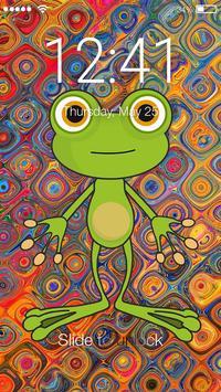 Cartoon Animals Lock poster