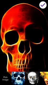 Death Skeleton Lock Screen screenshot 2