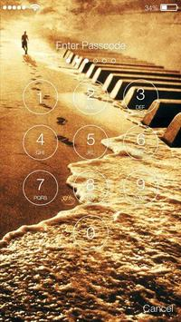 Piano PIN Lock apk screenshot