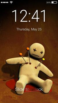 Voodoo Toy Lock Screen poster