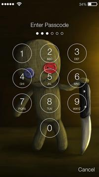 Voodoo Toy Lock Screen apk screenshot