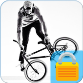 BMX Wheel Lock Screen icon