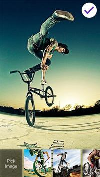 BMX Wheel Lock Screen apk screenshot