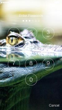 Crocodile Alligator Caiman  PIN Lock screenshot 1