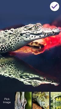 Crocodile Alligator Caiman  PIN Lock screenshot 2