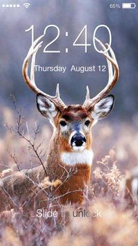 Deer Animal PIN Lock poster