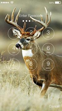 Deer Animal PIN Lock apk screenshot