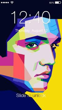 Elvis Presley PIN Lock Screen poster