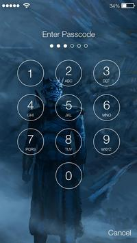 Game of Mother Dragons ART Pattern HD Smart Lock poster