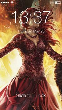 Game of Mother Dragons ART Pattern HD Smart Lock screenshot 2