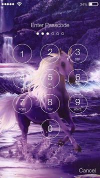 Magic Mysterious Unicorn Flying Horse Smart Lock screenshot 1