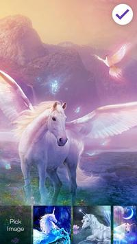 Magic Mysterious Unicorn Flying Horse Smart Lock screenshot 2