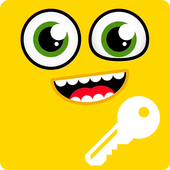 Smiley Funny Emoji Yellow Emotions HD Smart Lock icon