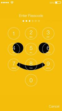 Smiley Funny Emoji Yellow Emotions HD Smart Lock apk screenshot