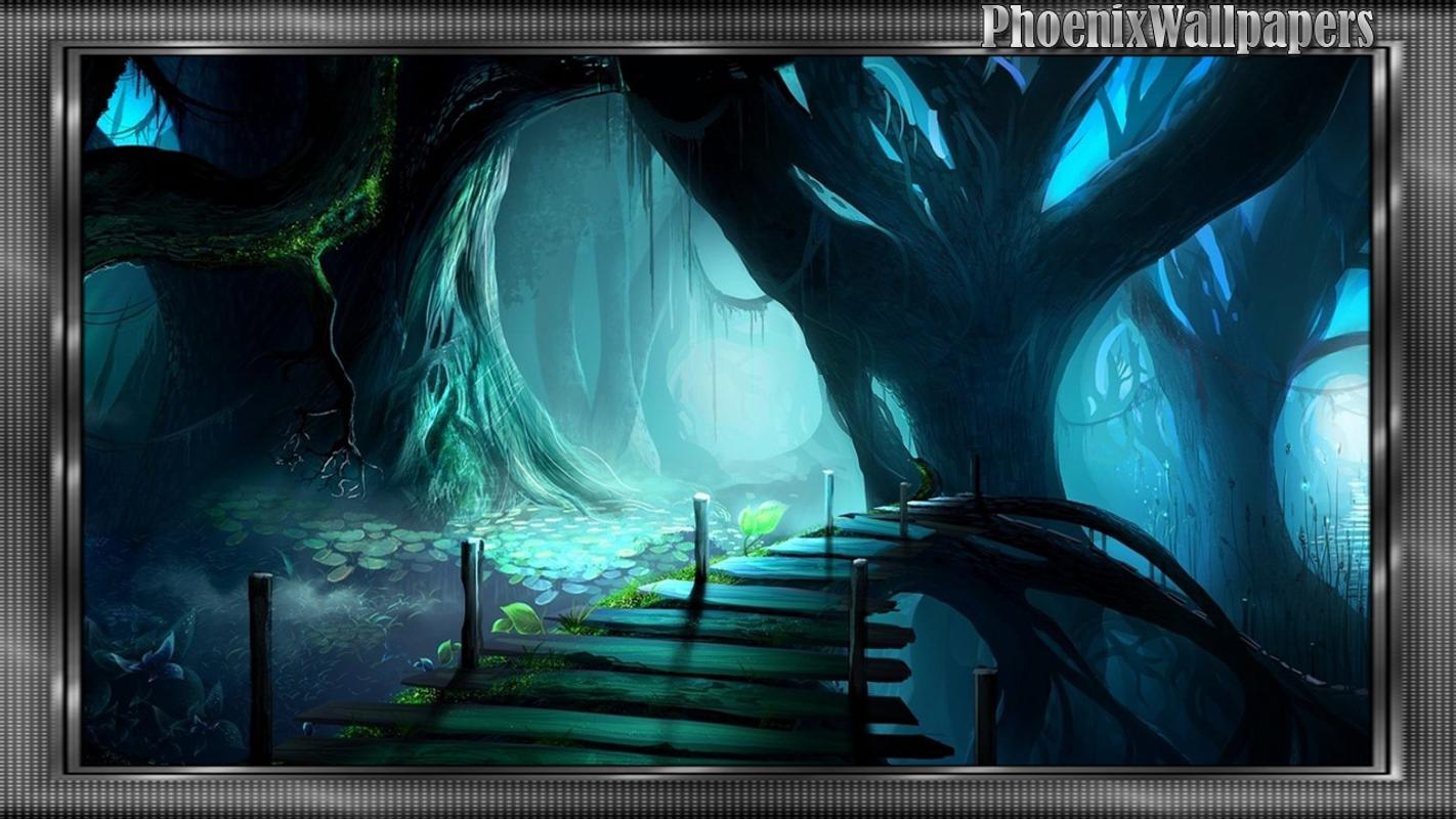 Enchanted Forest Wallpaper Poster Screenshot 1