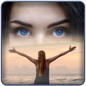 Photo Merge – Blend Two Images icon