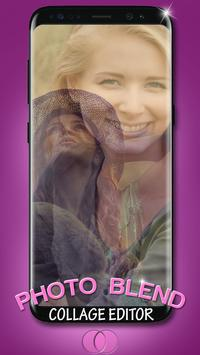 Photo Blend Collage Editor apk screenshot