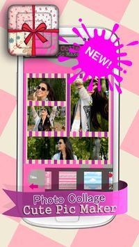 Photo Collage Cute Pic Maker screenshot 3