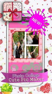 Photo Collage Cute Pic Maker screenshot 1