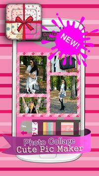 Photo Collage Cute Pic Maker screenshot 2