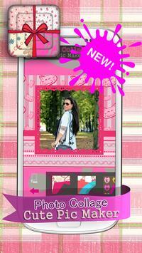 Photo Collage Cute Pic Maker screenshot 4