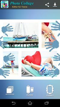 Photo Collage Editor for Teens screenshot 1