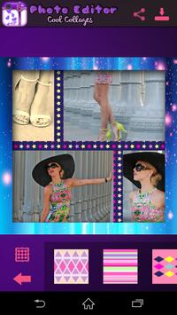 Photo Editor Cool Collages apk screenshot