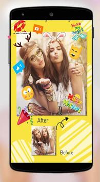 Snap Photo Editor Pro Stickers poster