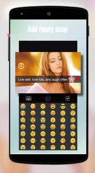 Snap Photo Editor Pro Stickers screenshot 1