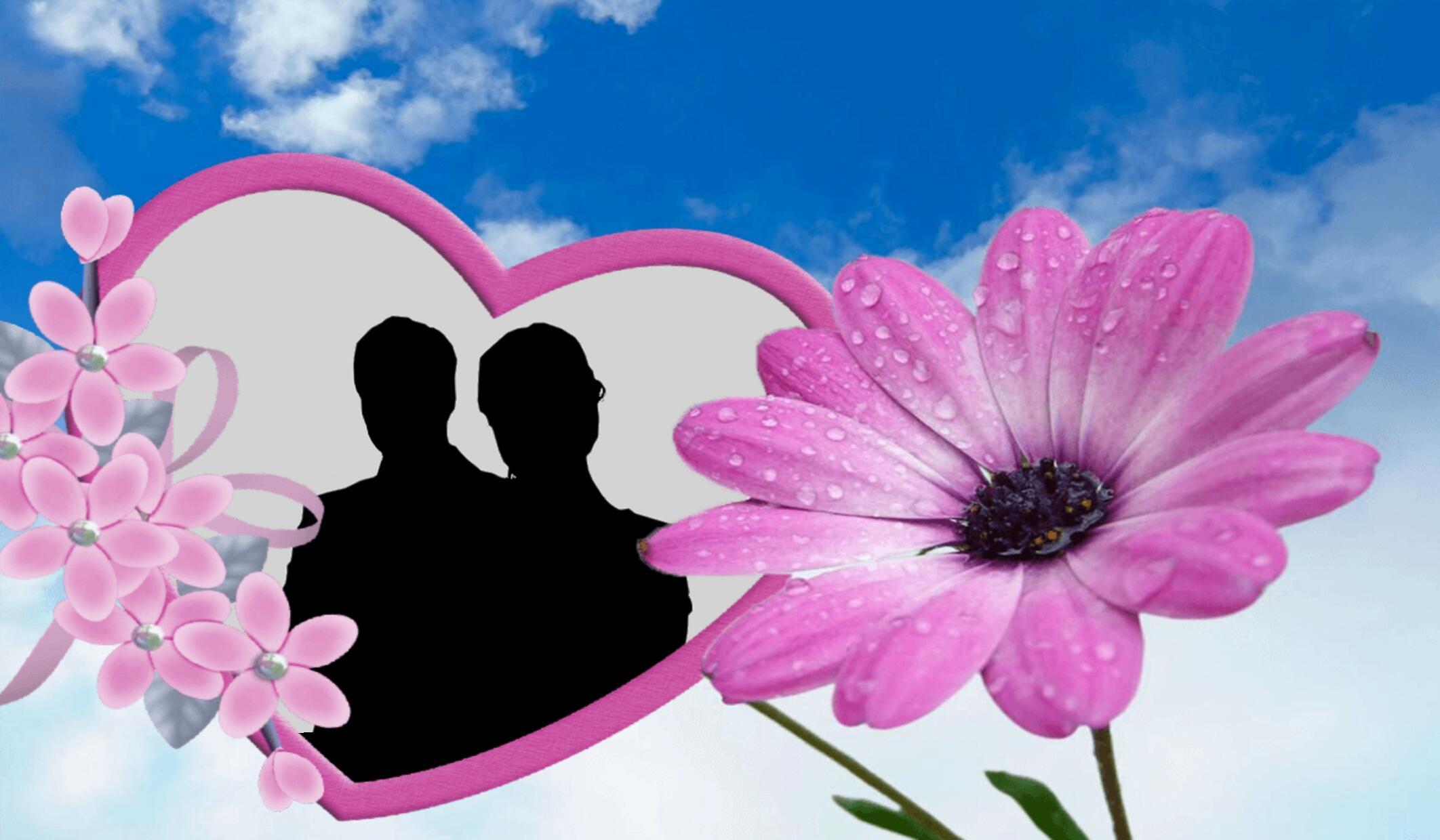 Bingkai Foto Bunga Cinta For Android Apk Download