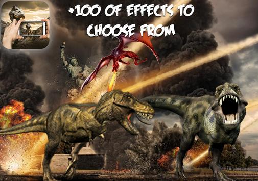 Dinosaurs Photo Editor FX screenshot 1