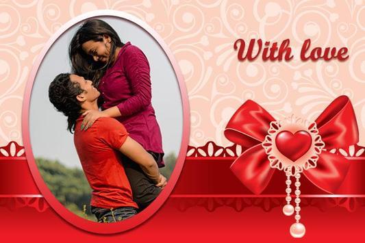 Romantic Love - Photo Frames screenshot 1