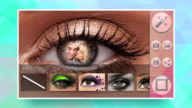 Photo Frame Eye poster