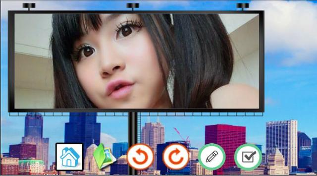 Photo Hordings Art Editor apk screenshot