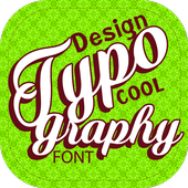 Creative Typography Design (Cool fonts) icon